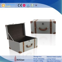 Cheap Handle Suitcase,Cardboard Suitcase Box With Handle