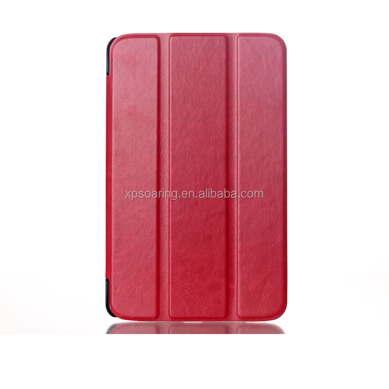 Triple folding Flip leather case cover for LG G Pad 8 V480