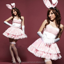 Hot Babe Bunny Halloween Costume Sexy Rabbit Cosplay Costume Women Christmas Outfits Teddy Fancy Dress
