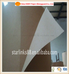 Recycled white top craft liner paper
