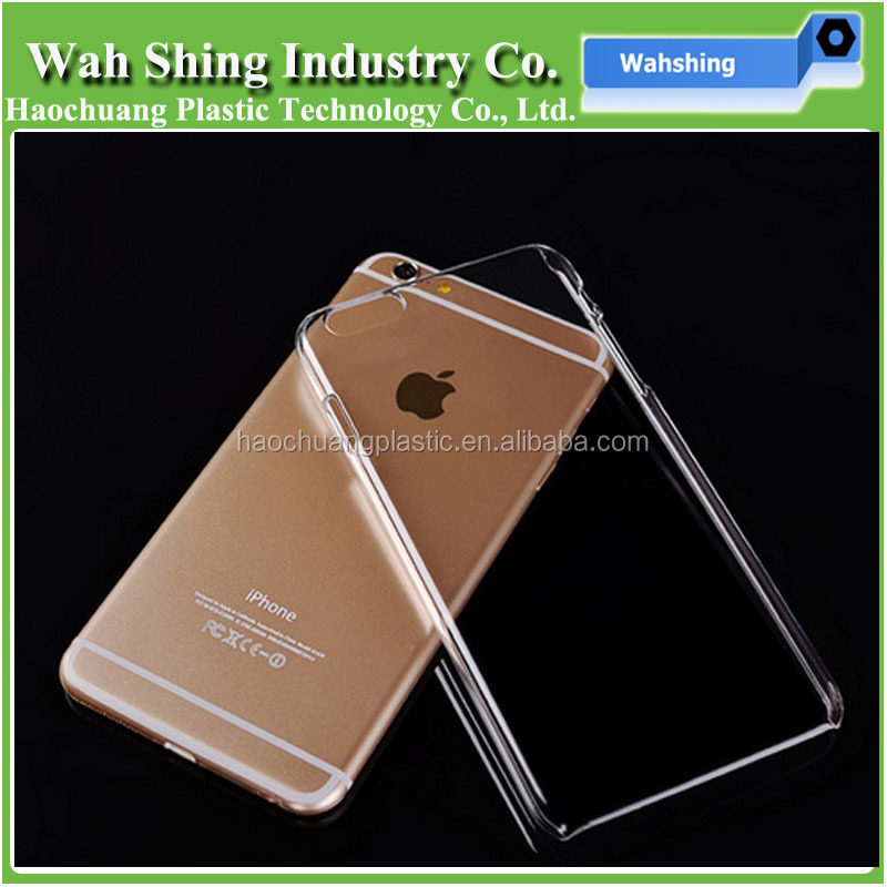 high quality transparent TPU PC Case For iPhone 6/6s/7
