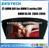 ZESTECH 8.8 INCH HOT SPECIAL Car dvd for BMW 5 series X6 E60 X5 (2005-2006) touch screen 1080P HD 2 din car dvd GPS for BMW E60