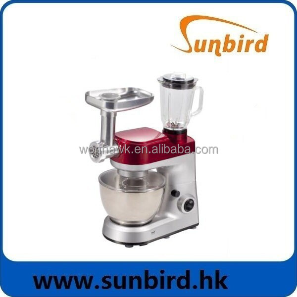 Electric Stainless Steel Stand Mixer with ABS Housing And UV Coating