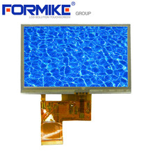 High brightess 400cd/m2 4.3 inch touch TFT LCD module for outdoor device