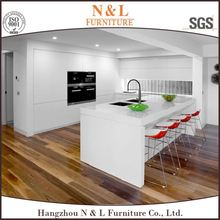 luxurious solid wood 10x10 white kitchen cabinets chinese supplier