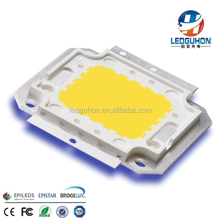 wholesale 50W Bridgelux 45mil chip warm white LED <strong>Modules</strong>