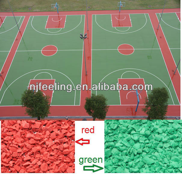 Cheap Price Of EPDM Rubber Granules For Sports Floor -G-I-006