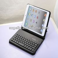 2013 case bluetooth keyboard for ipad mini for ipad