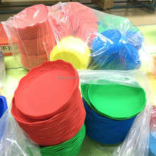 Factory Price Cheap Silicone Baking Dish Collapsible Fruit Basket/Plates/Compote/Dishes,silicone dinner plate