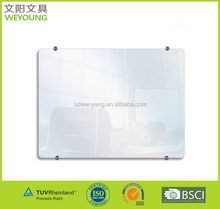 Smooth Surface Tempered Dry Wipe Glass Board Glass Clip Board