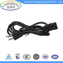125v 5a 3pins UL Electrical Appliances Cable to IEC C13 C14 America Ac Power Cord