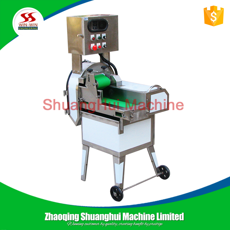 Double-inverter vegetable cutter/cutting machine