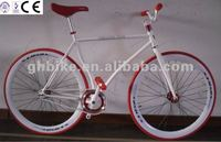 700c Red CR-MO Steel Anodize crank fixie gear bicycle