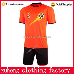 cheap plain soccer jerseys polyester dri fit quick dry fabric