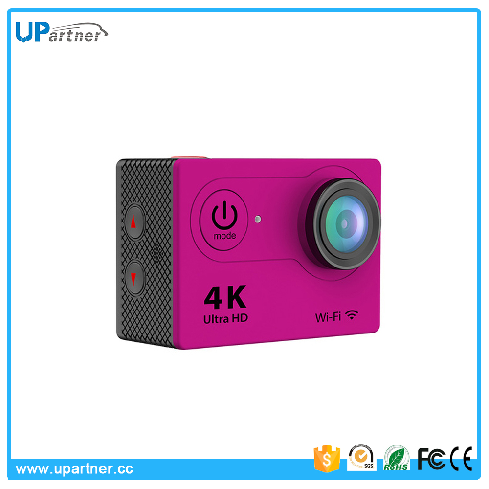 Manufacturer customized 16MP CMOS 4K 30fps wifi 170 degree Night vision action camera webcam