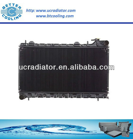 16 Years Experience Customer Plastic Tank Aluminum Core Car Subarus Radiator For 99-01 Forester OEM 45111FC340 DPI 2402