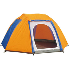 300*300*170 CM Rip-stop Waterproof and Wind-resistant Four-season Mountain Tents for Outdoor Camping