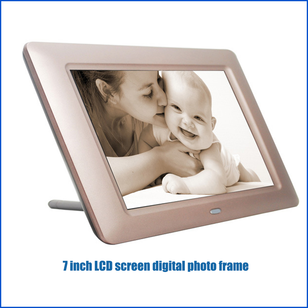 7 inch touch screen wifi digital photo frame