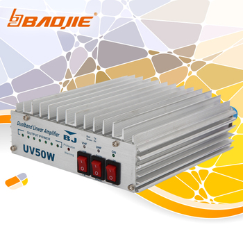 BAOJIE BJ-UV50W VHF UHF Wireless Radio Linear Amplifier