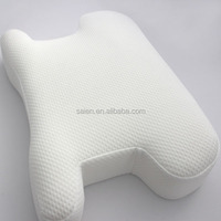 Cheap wholesale vacuum packed pattern for neck roll pillow