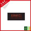 Wholesale cheap woven garment labels shoes bags cutton woven labels
