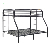 Home furniture cheap adult bunk beds metal double bunk bed