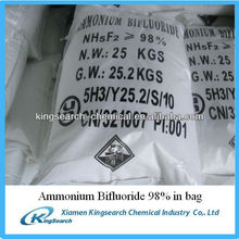 High quality ammonium bifluoride ABF 98% price for sale