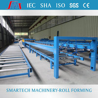 Shaoxing Smartech sinus roll forming machine steel corrugated roof panel cold roll former for sale