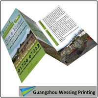 Custom printing flyer with good quality
