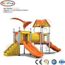 KINPLAY brand best to buy best colourful children preschool outdoor slide kindergarten playground equipment