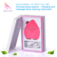 Best Quality Electric Anion Silicone makeup brush cleaner of skin care equipment