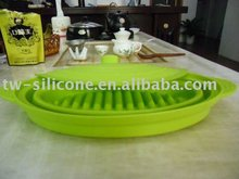 silicone collapsible microwave bowl