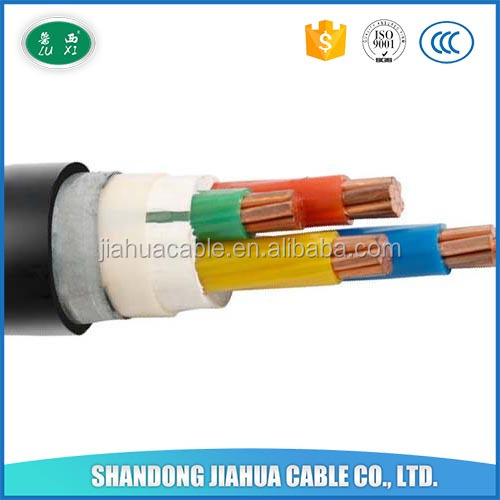 4 Core XLPE Construction Electricity Underground Cable 70mm sq