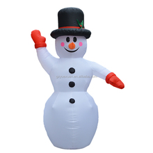 outdoor decoration inflatable snowman for Advertising promotions