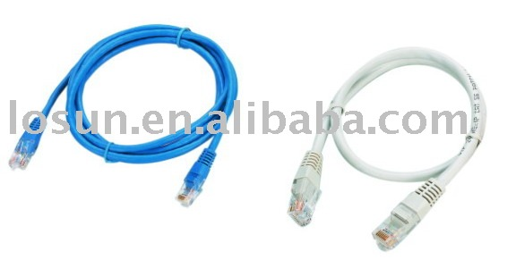 amp cat6 patch cord