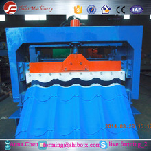 Building structure metal steel roofing panel sheet roll forming making machine