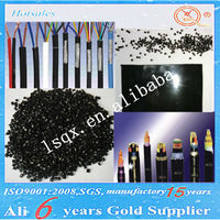 black Virgin LLDPE granules/Linear low density polyethylene for cable