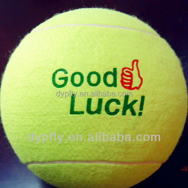 8 inch big jumbo rubber tennis balls inflatable