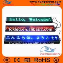 FOXGOLDEN P10 outdoor full color led display sign for advertising