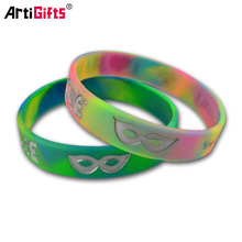 Wholesale latest technology custom embossed sport silicone rubber wrist bands