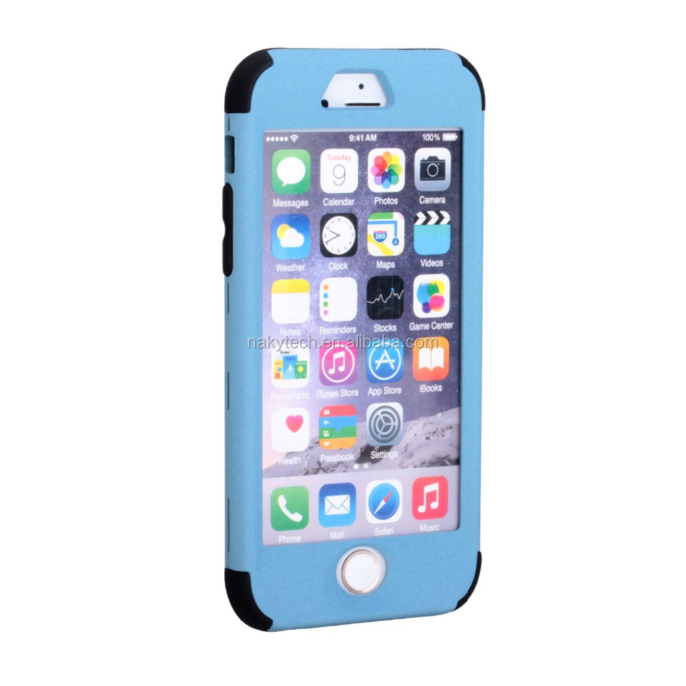 Silicone+pc Cheap Mobile Phone Case For IPhone 6, For IPhone6 plastic Case, For IPhone 6 Case wear resisting