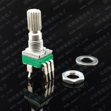 Electronic guitar effect instrument potentiometer