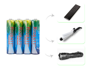 Low Price1.2V 800mAh AAA NI-MH Battery for Flashlights/Remote Controller