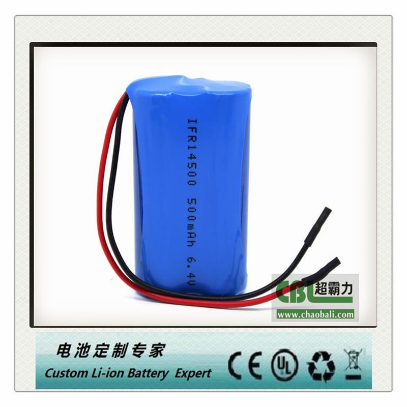 18650 2200MAH 3.7V lithium ion cell with PCB
