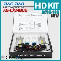 New Products on China Market hid xenon bulb d1s 55w, 55w canbus hid ballast, slim canbus ballast car hid kits canbus X5 BAOBAO L