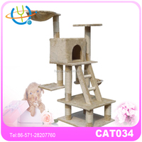 New strong cat climbing tree with heated cat beds