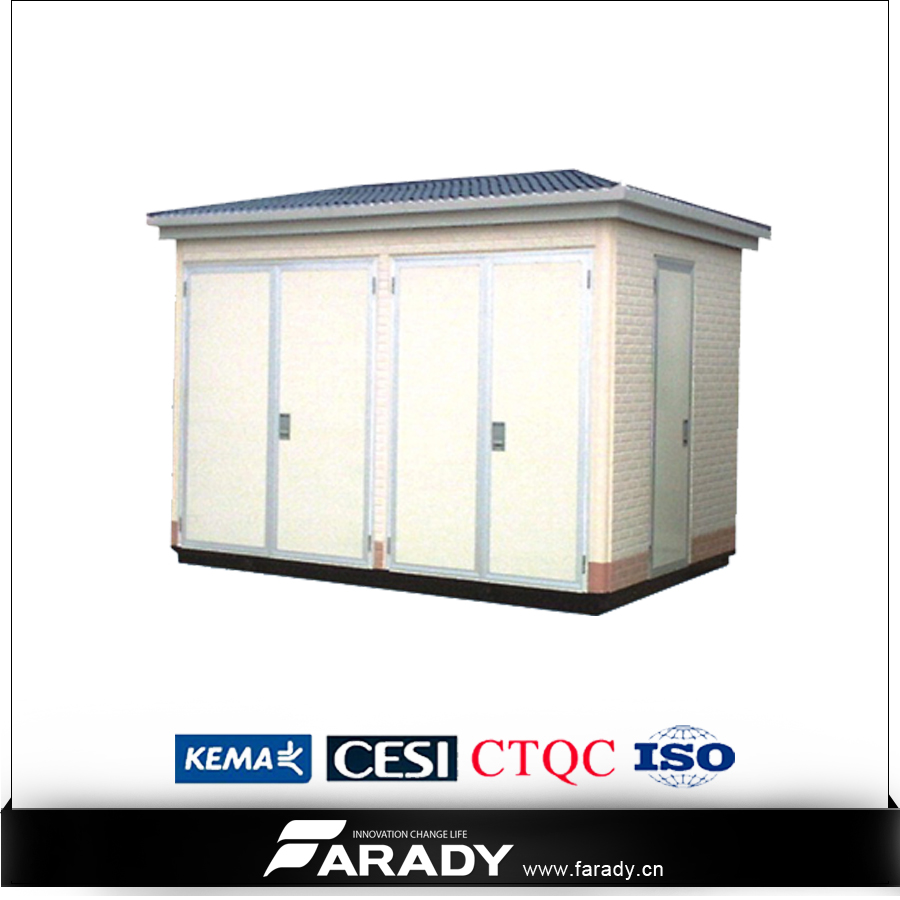 kiosk electrical transformer prefabricated substation