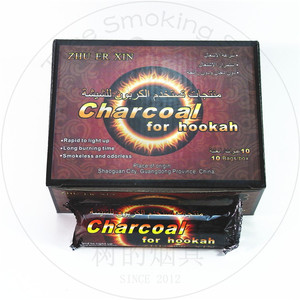 TTAN0002 zhuerxin charcoal for hookah shisha sisha sheesha 33mm 100pcs fast burning coal yiwu werahouse office