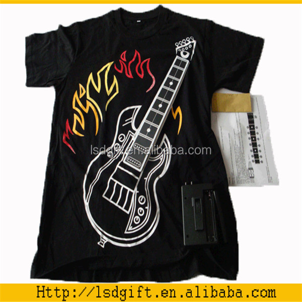Guitar sound electric rock guitar t shirt