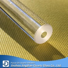 JD Thick Wall Heat Resistant Fused Silica Quartz Glass Tube